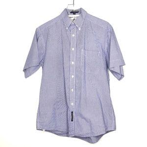 VTG Tommy Hilfiger Checker Button Up Shirt A220911